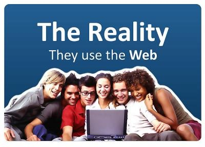 The reality | They use the web