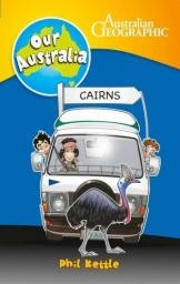 CAIRNS STARS IN BOOK SERIES FOR STUDENTS