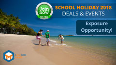 JOIN OUR TOP TNQ SEPTEMBER SCHOOL HOLIDAY DEALS 2018 CAMPAIGN!