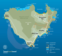 Magnetic Island Map